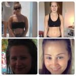 Kathrine før/efter